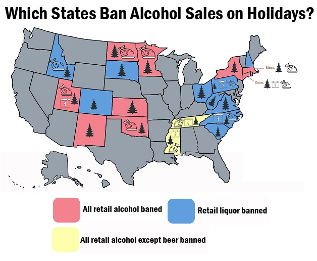 Map On Holiday Institute Of Enterprise Competitive Alcohol State Laws Sales